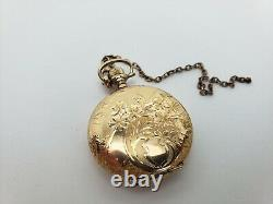 Antique Mermod Jaccard Pocket Watch Woman's 1800's St. Louis Works Great