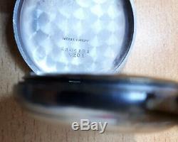 Antique Nomolas Watch Pocket Vintage Swiss Rolex Calibre 616 Super Rare Running