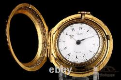 Antique Ottoman George Prior Verge Fusee Pocket Watch. London, Circa 1775