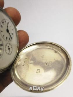 Antique Ottoman Silver Pocket Watch Very