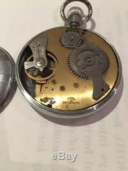 Antique Pocket Watch For Restoration Rare Digital Mechanical 1920s