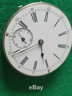Antique Pocket Watch Quarter Repeater Movement working