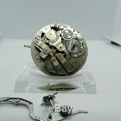 Antique Pre-Manufacture LeCoultre Minute Repeater Pocket Watch Watch Movement #2