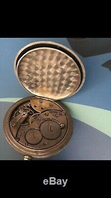 Antique Rolex RR Pocket Watch Running