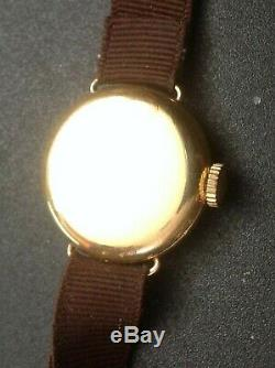 Antique TIFFANY & CO. 18 K Solid Gold Lady's WATCH by AGASSIZ