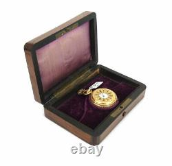 Antique Tiffany & Co Patek Philippe 18K Yellow Gold Fancy Pocket Watch