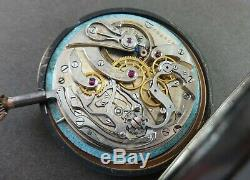 Antique ULYSSE NARDIN Medical Chronometer Openface 53mm Pocket Watch