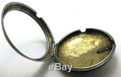 Antique Verge Fusee Movement Breguet A Paris Tortoise Pocket Watch