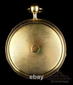 Antique Verge Fusee Skeleton Automaton Quarter-Repeater Pocket Watch. 1820