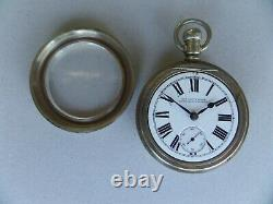 Antique Vintage Old Waltham New South Wales Government Railways Pocket Watch