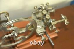 Antique Watchmakers Rounding Up Gear Cutting Tool With Cutters Pocket Watch NICE