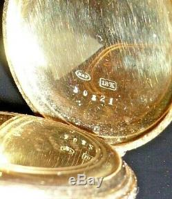 Antique pocket watch Mermod Freres Geneve gold/enamel/diamonds