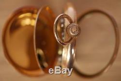 Antique very rare Omega Labrador Gold Pocket Watch c1897