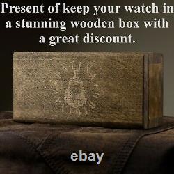 Antiques Pocket Watch Rolex Converted Wrist Watch Mens Luxury Mechanical Watch