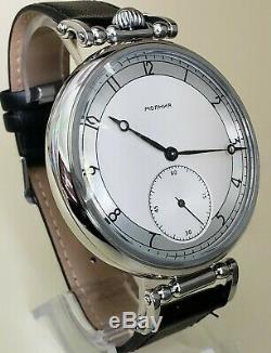Big Men's Wrist Watch Marriage 3602 mechanism Pocket Watch Soviet USSR