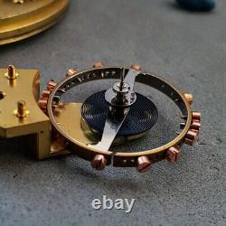 Charles Frodsham freesprung demi-chronometer 44mm antique pocket watch movement