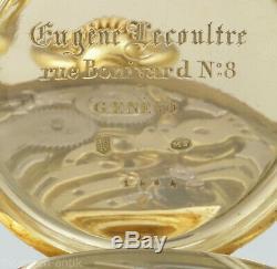 EUGÈNE LECOULTRE WATCH SIX COMPLICATIONS retrograde Pepertual Calender, 1860