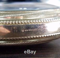 Elgin 349 Antique/VTG 21 Jewel Enameled LOG Open Face ca 1911