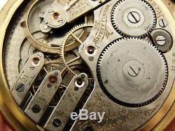 Elgin Model No. 270 Antique/VTG 21 Jewel RR Railroad Pocket Watch circa 1905
