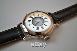 Fully original Patek Philippe vintage men's watch antique solid silver hunter