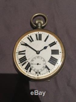 Goliath Very Large Antique Pocket Watch Circa 1900