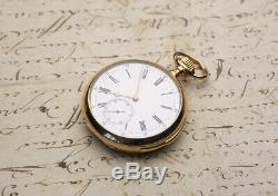 HI GRADE QUARTER REPEATER 18k Gold Antique REPEATING Pocket Watch