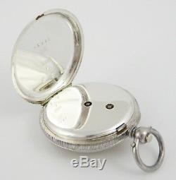 Hallmarked Swiss. 935 Silver Fancy Applied Gold Dialed Antique Pocket Fob Watch