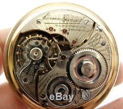 Illinois Bunn Special 21 Jewel Circa 1925 Railroad RR Antique/VTG Pocket Watch