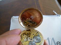 JW Benson J. W. Benson Taschenuhr Erbstück ANTIQUE SOLID 375 GOLD POCKET WATCH