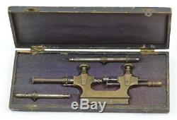 Jacot tool watch pocketwatch pivot repair tool tour a pivoter antique old lathe
