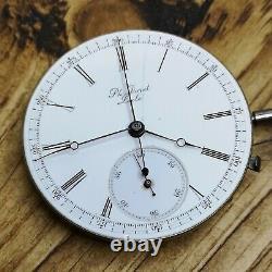 Jurgensen for PH Doret Antique Pocket Watch Movement Chronograph (E103)