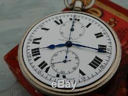 LONGINES West End Watch Co, Indian Military Officers Pocket watch chronograph