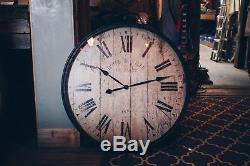 Large Pocket Watch Wall Clock/Vintage Style/Decor/Antique Look/Traditional/31.5