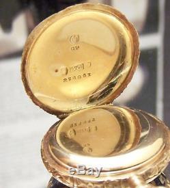 Le Coultre Duchess Of Wellington C1850 Antique Solid 18k Gold Diamond Watch