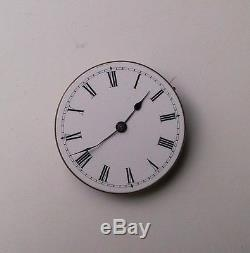 Likely Badollet small 34mm high grade antique pocket watch movement