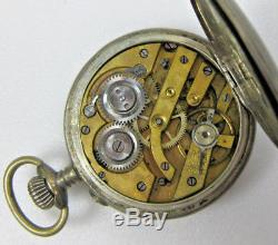 Lot of 8 Antique Pocket Watches for repair or Parts