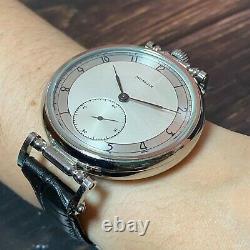 MARRIAGE Pocket Watch Molnija Soviet Mens Exclusive version 18 Jewels 3602 USSR