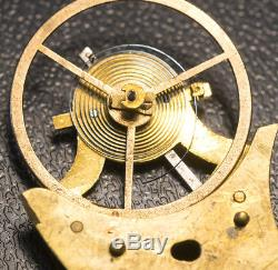 MARTIN-POUZAIT EARLY LEVER escapement REPETITION REPEATING Antique Pocket Watch