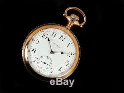 Mega Rare Antique 18s Waltham Riverside First Run Pocket Watch Mint Serviced