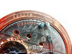 Mega Rare Antique Railroad 18s 21j Hamilton 941 Pocket Watch Mint Serviced