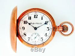 Mega Rare Antique Railroad 21J 18s Rockford 810 Pocket Watch Mint Serviced
