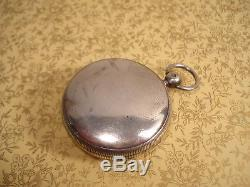 Montre Gousset à Coq Ancienne Berthoud En Argent Antique Pocket Watch