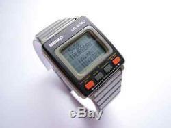 NIB Vintage 1983 NOS SEIKO UC2000 complette LCD wrist computer system pocket set
