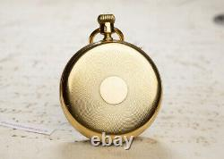 NICOLE & CAPT Early REGULATOR DIAL CHRONOGRAPH 18k GOLD Antique Pocket Watch