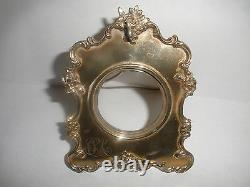 Nice antique Sterling Silver holder display stand for pocket watch English