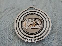 Original Steel 1930's Art Deco Jaeger-LeCoultre open faced Gent's Pocket watch
