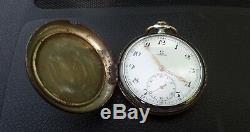 Original Swiss Antique Omega 15 Jewel Pocket Watch