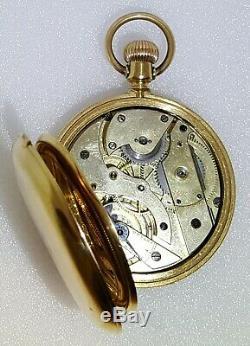 Patek Philippe 18kt Gold Antique, 125g heavy Full Hunter cased pocket watch