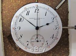 Patek Philippe Antique Movement Minute Repeater Split Second Chronograph Working