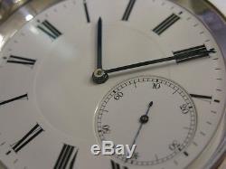 RARE montre école à détente Technicum La Chaux-de-Fonds Antique school watch